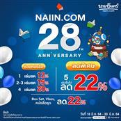 naiin.com ANNIVERSARY 28th