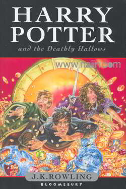 Harry Potter And The Deathly Hollows (Book 7/ Hardcover U.K. Edition)(ภาษาอังกฤษ)