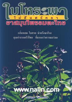 ใบโหระพา ไม่สิ้นศรัทธา ยาสมุนไพรอมตะไทย