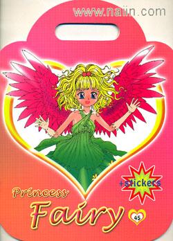 สมุดระบายสี Princess Fairy + สติกเกอร์