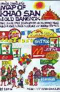 Nancy Chandler's Map of Khao San, 1st Ed