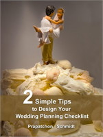 2 Simple Tips to Design Your Wedding Pla