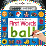 Wipe Clean Learning: First Words