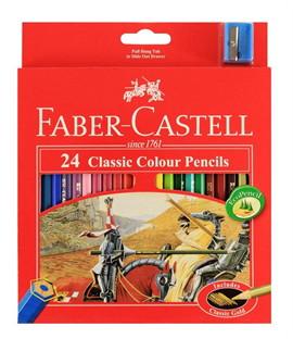 สีไม้ อัศวิน เฟเบอร์ คาสเทล 24 สี