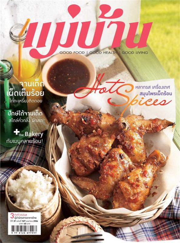 นิตยสารแม่บ้าน ฉบับเมษายน 2556