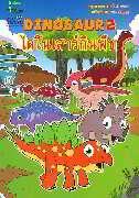 สมุดภาพระบายสี Dinosaur 2 ไดโนเสาร์กินพืช (Thai-Eng)