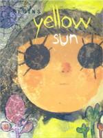 yellow sun begins