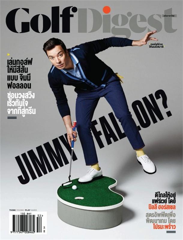 Golf Digest - ฉ. มิถุนายน 2557