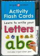 Wipe Clean Activity FlashCard: ABC