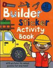 Sticker Activity Books: Builder