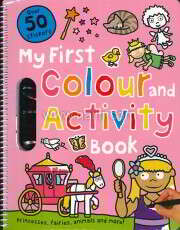 My First Colour and Activity Books: Pink