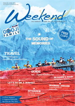 นิตยสารWeekend ฉ.84 มิ.ย 58(ฟรี)