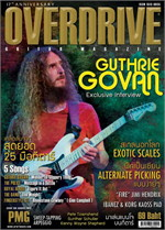 Overdrive Guitar Magazine Issus 198