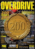 Overdrive Guitar Magazine Issus 200
