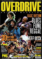 Overdrive Guitar Magazine Issus 133