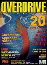 Overdrive Guitar Magazine Issus 135