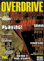 Overdrive Guitar Magazine Issus 137