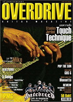 Overdrive Guitar Magazine Issus 144