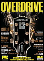 Overdrive Guitar Magazine Issus 151