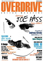 Overdrive Guitar Magazine Issus 154