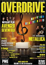 Overdrive Guitar Magazine Issus 169