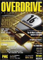 Overdrive Guitar Magazine Issus 183