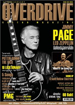 Overdrive Guitar Magazine Issus 188