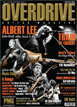 Overdrive Guitar Magazine Issus 189