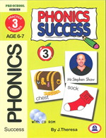 PHONICS SUCCESS เล่ม 3 + CD