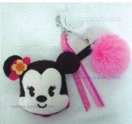 พวงกุญแจกระเป๋า Cutie Minnie