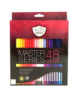 สีไม้มาสเตอร์ อาร์ต ซีรี่ส์ 48 สี