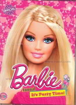 Barbie Annual It's Party Time!+แฟ้ม