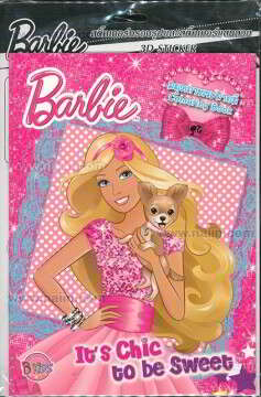 Barbie: It's Chic to be Sweet+สติ๊กเกอร์