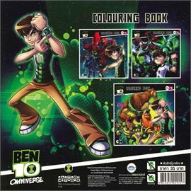 สมุดรบส.Ben 10 Omniverse (10x10) No.2