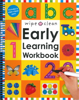 abc wipe clean Early Learning Workbook
