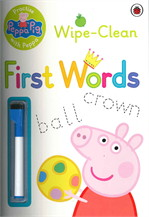 Peppa Pig: Practise with Peppa - Wipe-Clean First Words (Peppa Pig)