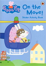 Peppa Pig: On the move sticker activity
