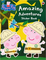 Peppa Pig: Amazing Adventures Sticker Bo