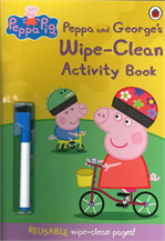 Peppa Pig: Peppa and George's Wipe Clean
