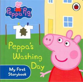 Peppa Pig: Peppa's Washing Day - My First Story