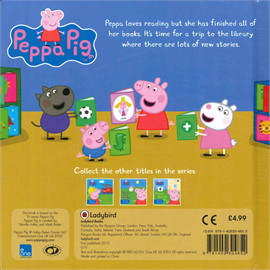 Peppa Pig: Peppa Goes to the Library - M