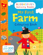 My first farm colouring book