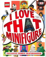 Lego I love that minifigure