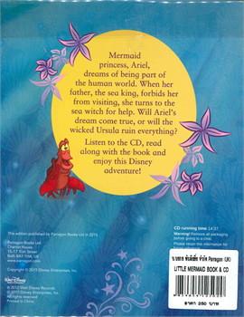 LITTLE MERMAID BOOK & CD (ตท.)