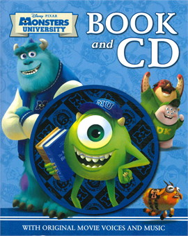 DISNEY MONSTERS UNI BOOK & CD (ตท.)