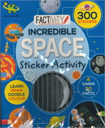 INCREDIBLE SPACE STICKER ACTV (ตท.)
