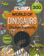 WORLD OF DINOSAURS STICKER ACT (ตท.)