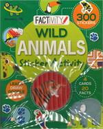 WILD ANIMALS STICKER ACTIVITY (ตท.)