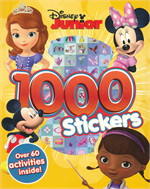 DISNEY JUNIOR 1000 STICKERS (ตท.)