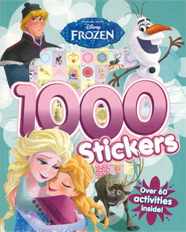 DISNEY FROZEN 1000 STICKERS (ตท.)